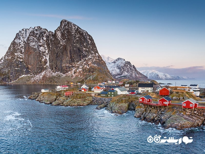 ۱. جزایر لوفوتن (Lofoten Islands)، نروژ