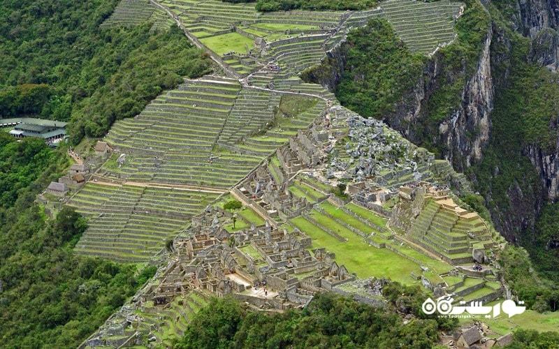 3. چشم اندازی از بالای کوه ماچو پیچو (Machu Picchu) داشته باشید، پرو