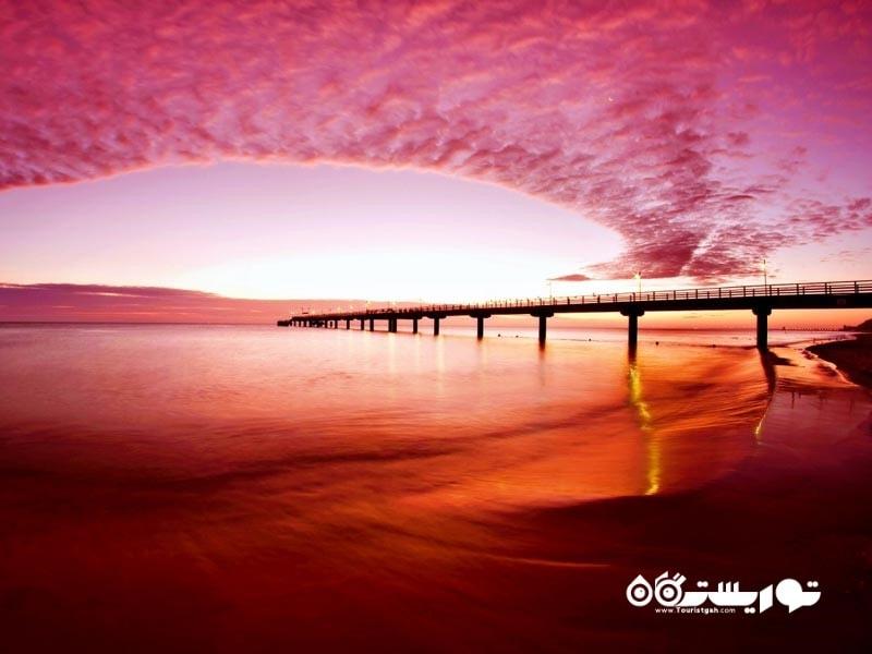 سواحل شگفت انگیز رنگارنگ در سراسر جهان