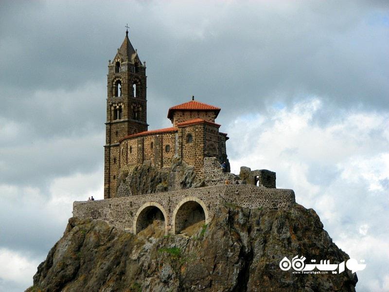 کلیسای سنت میشل (Chapelle St-Michel d'Aiguilhe) در کشور فرانسه