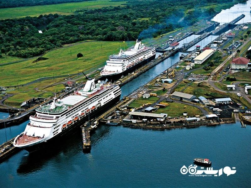 جزیره پاناما (Panama) در کشور اندونزی جنوبی ترین نقطه قاره آسیا