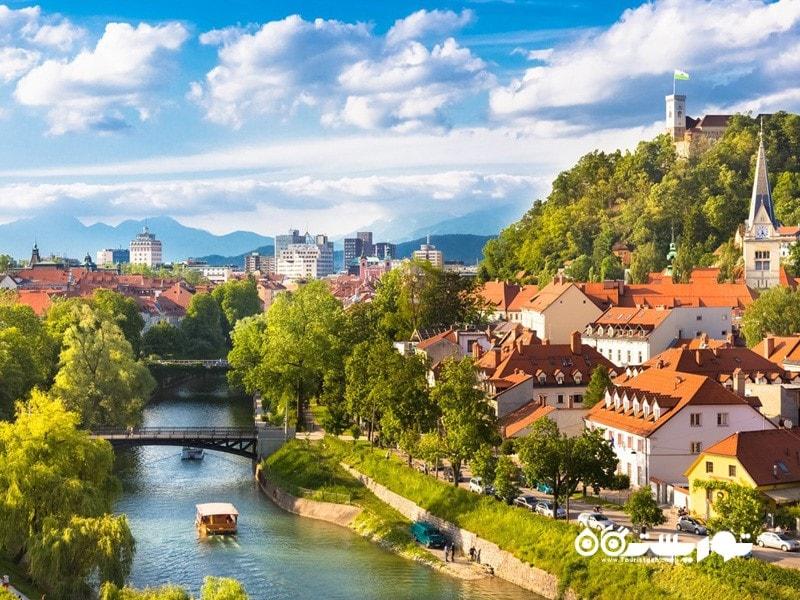 3. لیوبلیانا (Ljubliana) در کشور اسلوونی (Slovania)
