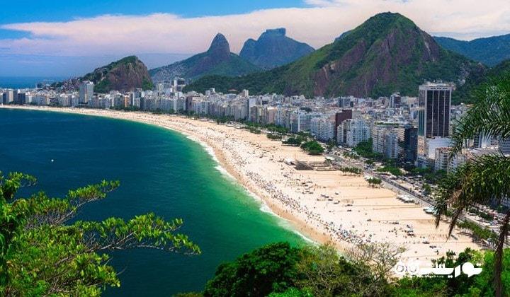 ساحل کاپاکابانا، ریو دو ژانیرو، برزیل