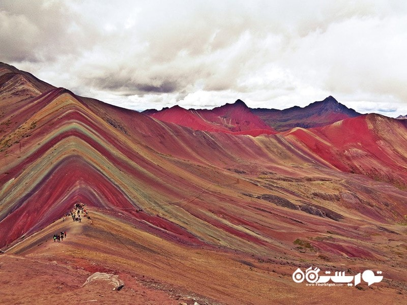 34- کوهستان رنگین کمان (وینیکانکا) Rainbow Mountains (Vinicunca)