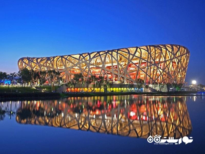 1.استادیوم ملی پکن (Beijing Nnatinal Stadium)