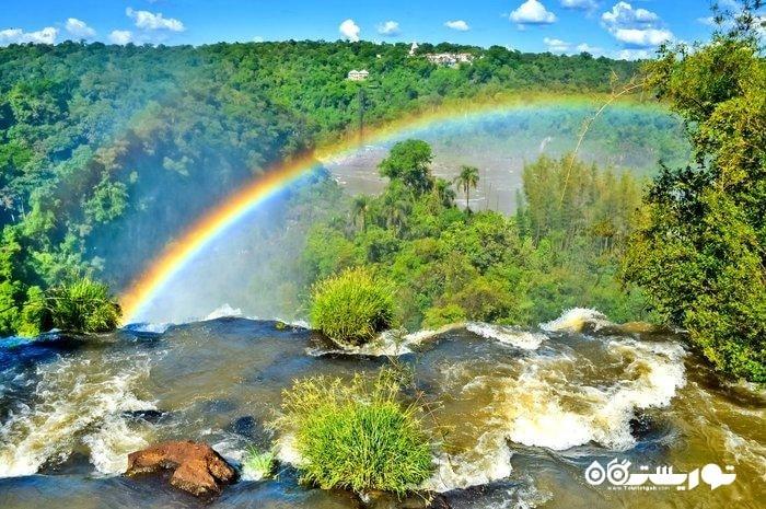 سفر به  باورنکردنی ترین نقاط برای تماشای زیباترین رنگین کمان های دنیا