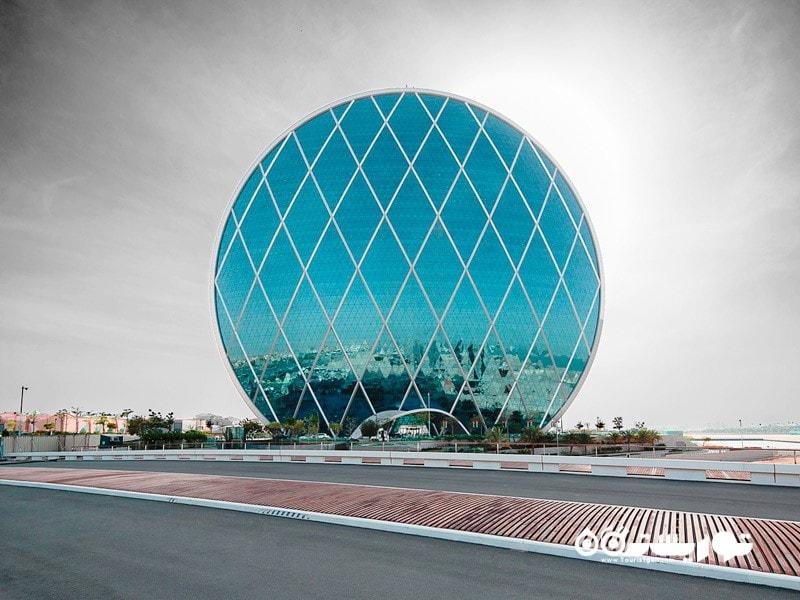 6.دفتر مرکزی آلدار- ابوظبی (Aldar Headquarters, Abu dhabi)
