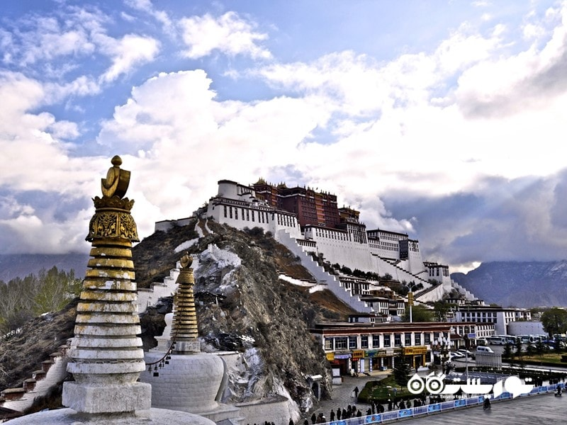 کاخ پوتالا (Potala Palace) در کشور تبت