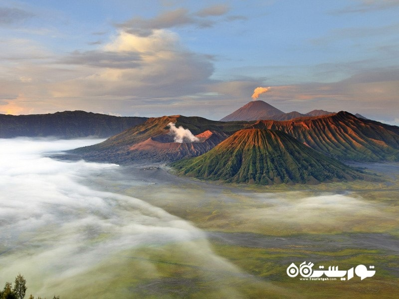آتشفشان بِرومو، شرق جاوا، اندونزی