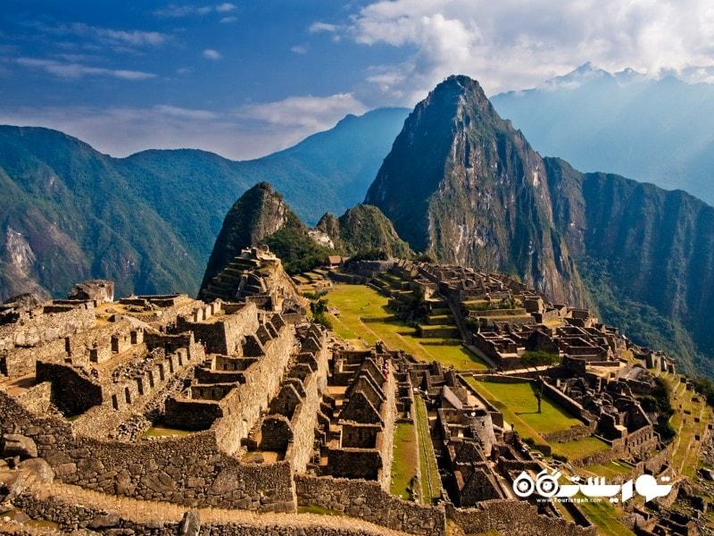 2- ماچو پیچو (Machu Picchu) در کشور پرو