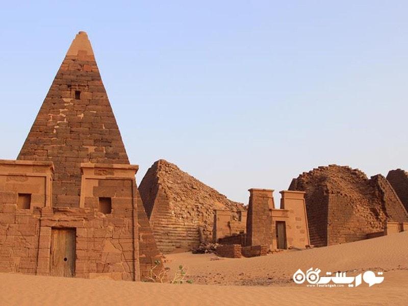 7.منطقه باستانی مرواه (The Archeological Site of Meroë)، سودان
