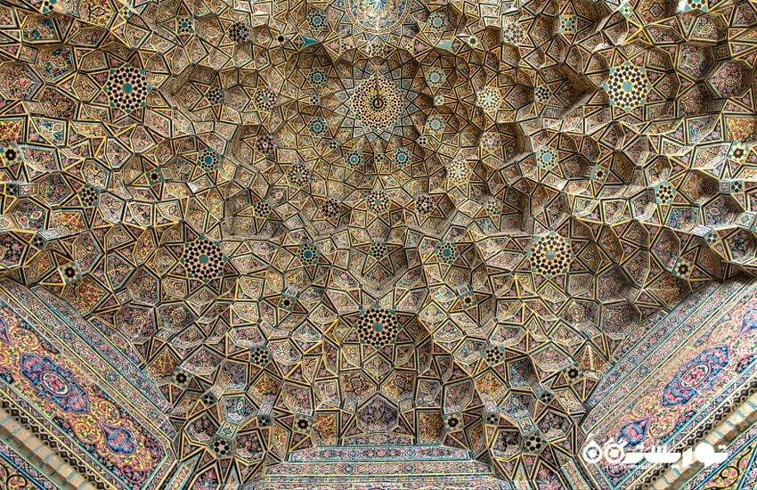 سقف طاق اصلی مسجد