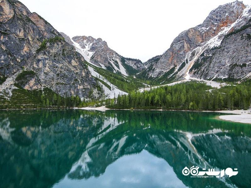 دریاچه دِ بریس، ایتالیا (Lago Di Braies, Italy)