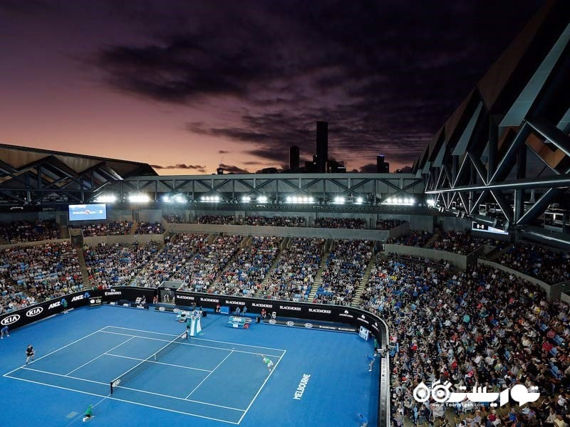 مسابقات اوپِن استرالیا، یکی از چهار گرَند اِسلَم مهمترین مسابقات تنیس جهان