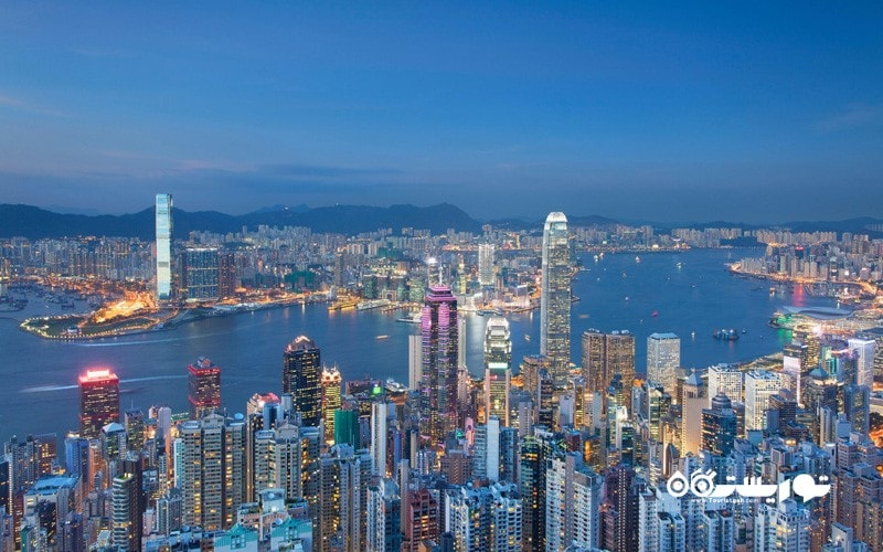 9. چشم اندازی از بالای قله پیک (The Peak) داشته باشید، هنگ کنگ