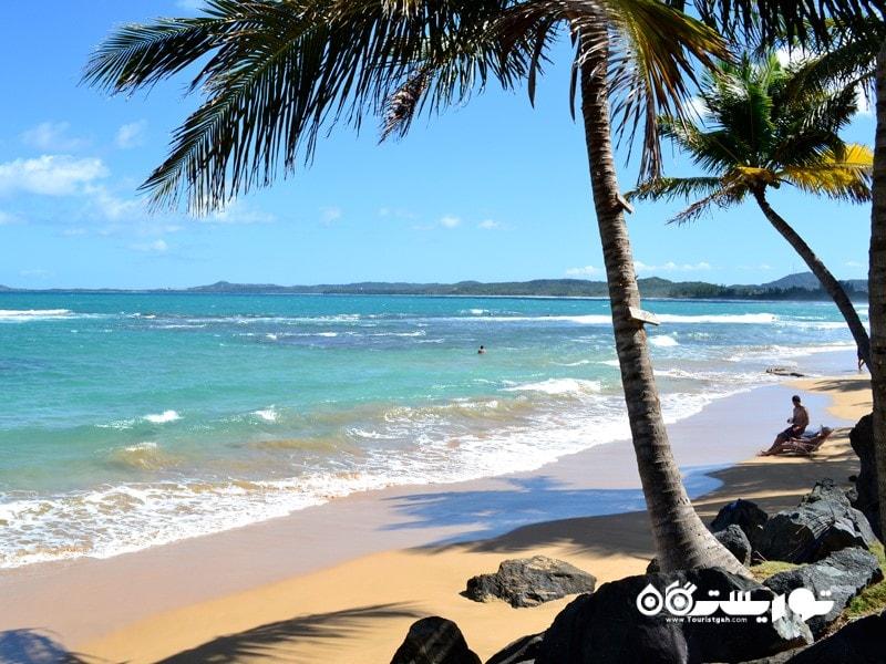 6. ساحل لوکیلو جاذبه گردشگری پورتوریکو