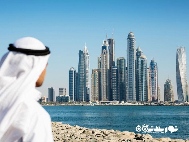 9: در دبی هیچ مبلغی به عنوان مالیات بر درآمد پرداخت نمی شود!
