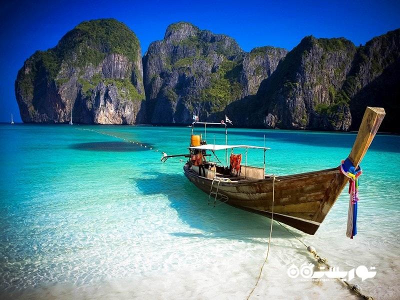 4- جزایر فی فی (Phi Phi) در کشور تایلند