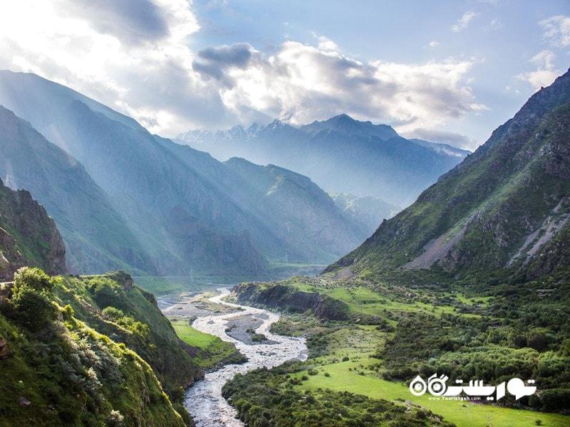8.رشته کوه قفقاز