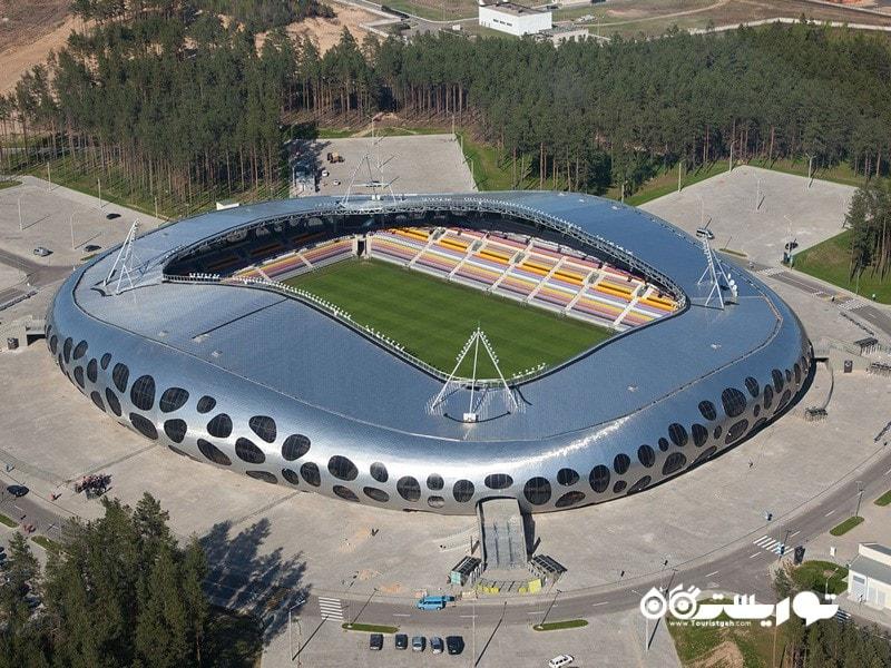 1- ورزشگاه بوریسوف آرنا (Borisov Arena)، بوریسوف، بلاروس