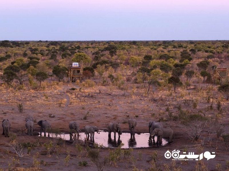 اقامتگاه شخصی خوای (Khwai) در کشور بوتسوانا (Botswana)