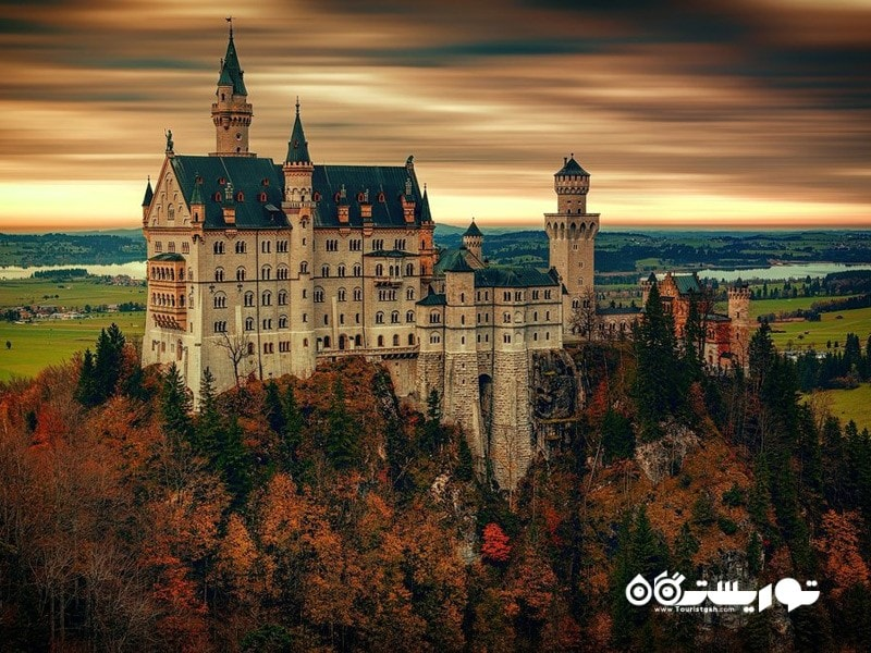 12- قلعه نوی شوان اشتاین (Neuschwanstein Castle)