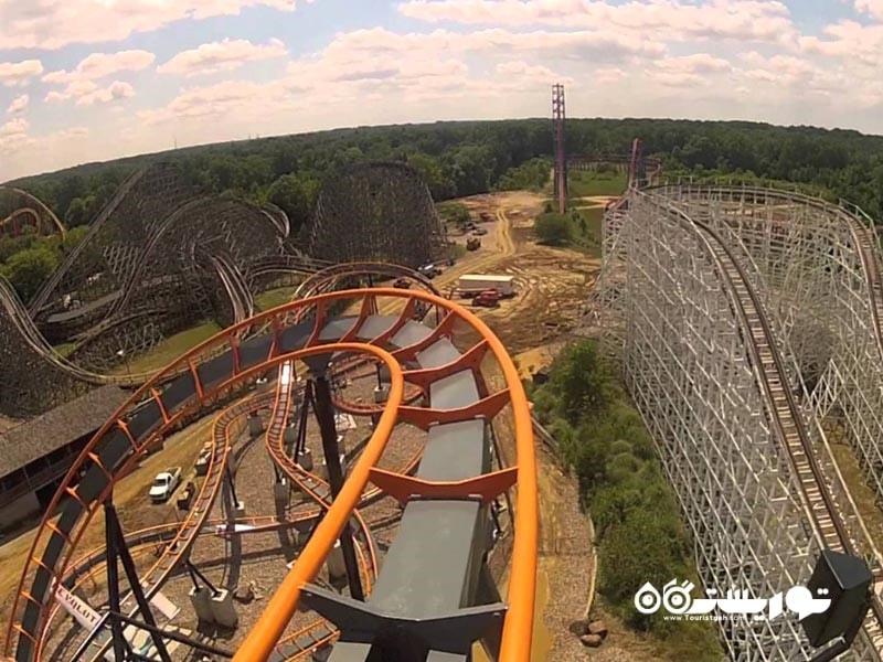 ترن هوایی سیکس فِلَگز اِمِریکا (Six Flags America)