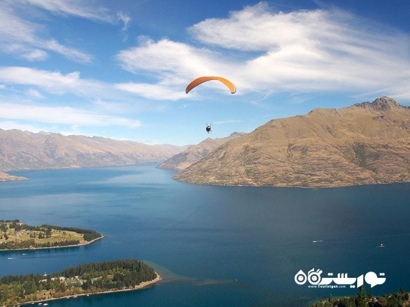 5. به جنوب جزیره سر بخورید در کشور نیوزلند