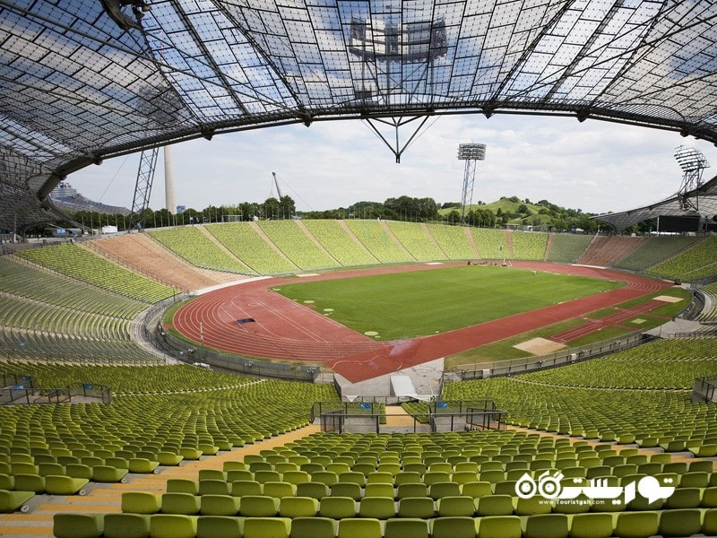 2- ورزشگاه المپیک، مونیخ
