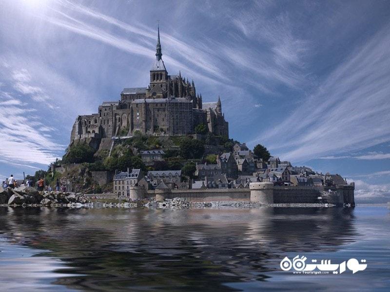 16- کوه سنت میشل (Mont Saint-Michel)