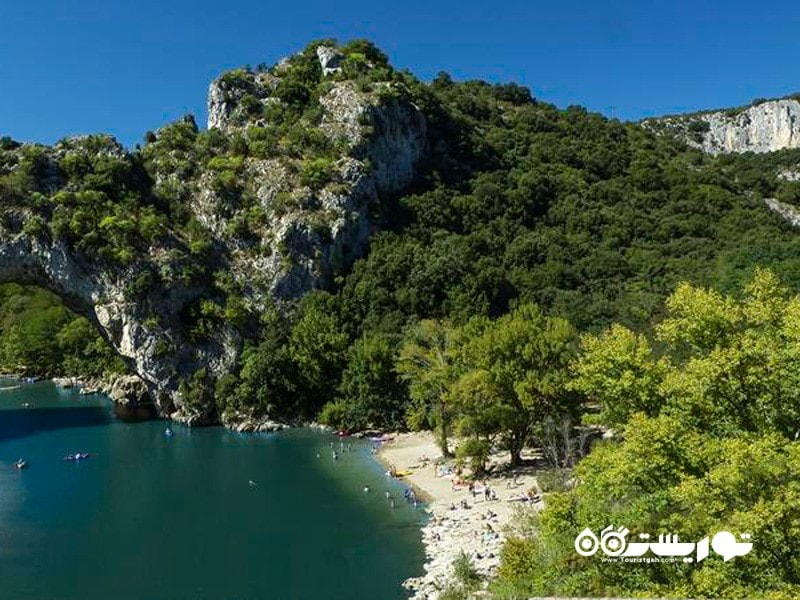 17.گورژ دو لاردژ (Gorges de l'Ardèche)