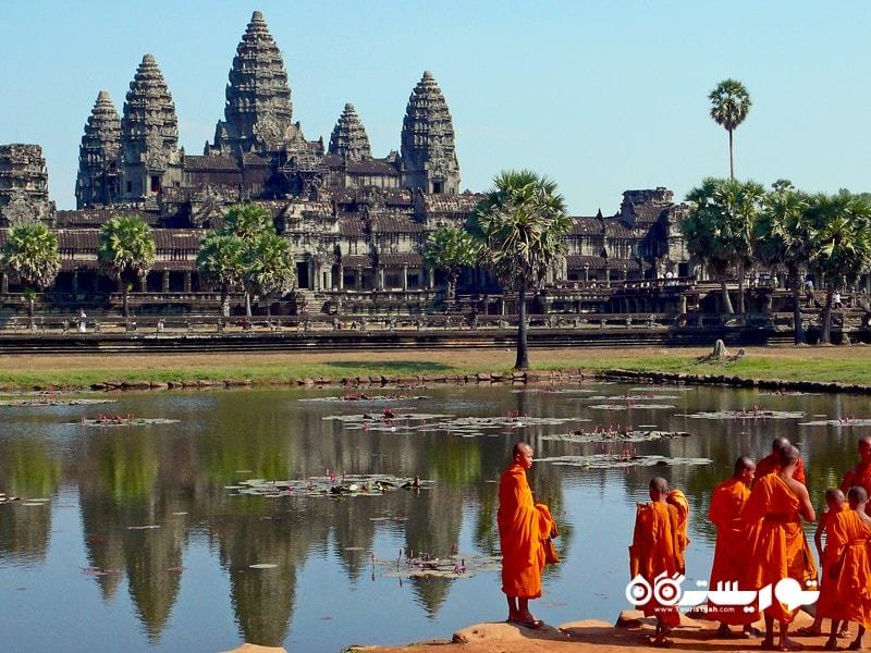 6- انگکوروات (Angkor Wat) در کشور کامبوج