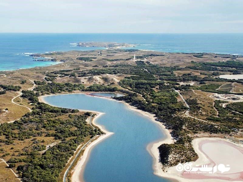 سواحل جزیره روتنِست