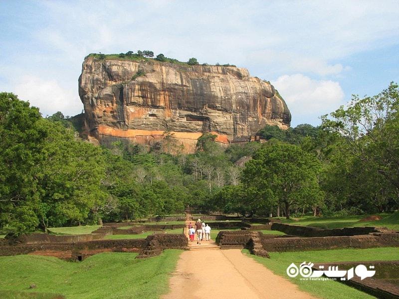 سیگیرییا (Sigiriya) در کشور سریلانکا