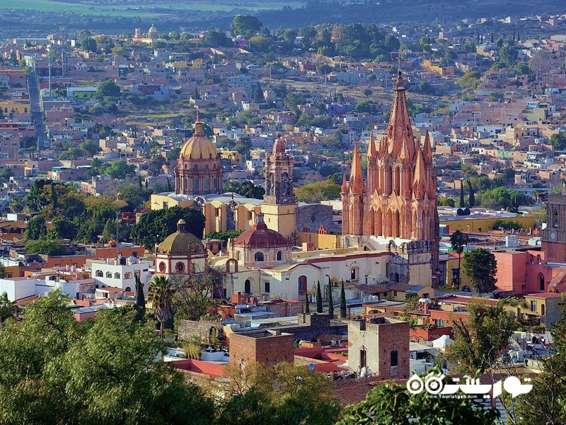 4. سن میگل د آلنده (San Miguel de Allende) در مکزیک