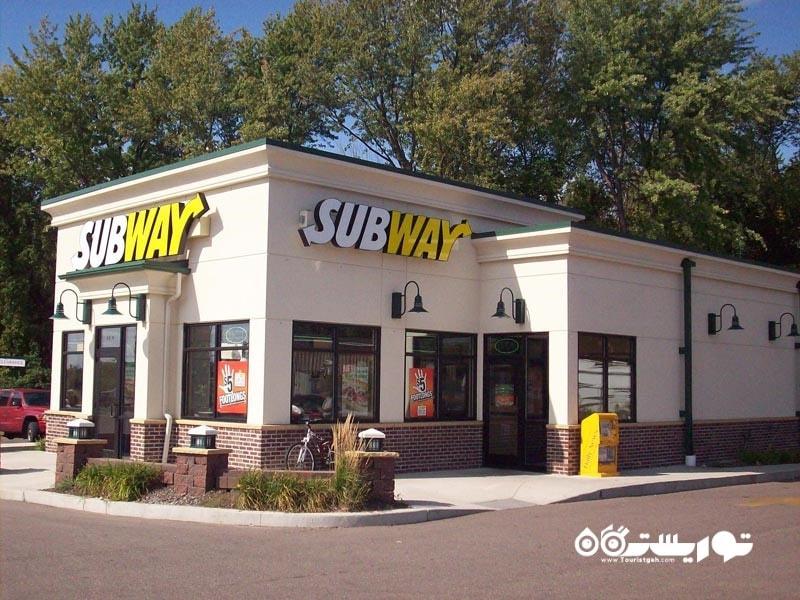 رستوران ساب وِی - Subway