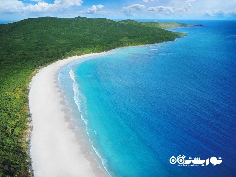 3. جزیره کولبرا جاذبه گردشگری پورتوریکو