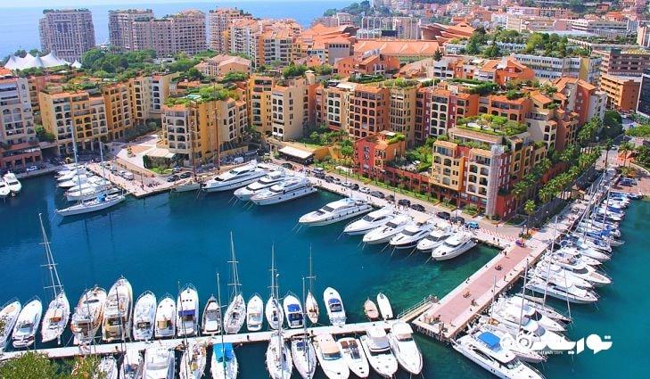 2- موناکو (Monaco) با مساحت 2 کیلومتر
