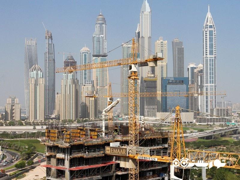 2: از هر 4 جرتقیل موجود در جهان یکی از آنها در دبی قرار دارد!
