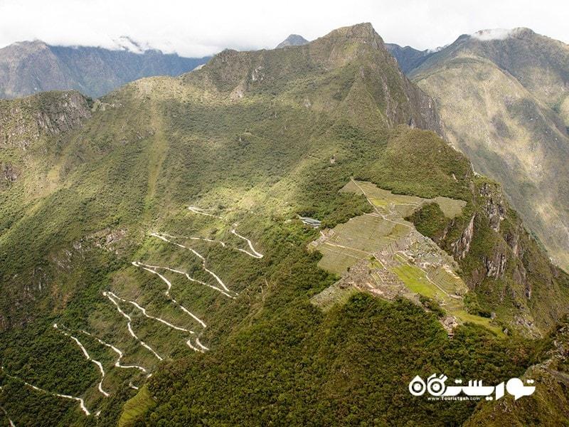 تصویر کلاسیک ماچوپیچو (Machu Picchu)
