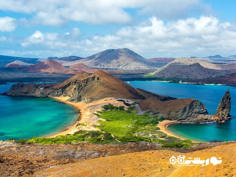 1- جزایر گالاپاگوس (Galapagos)