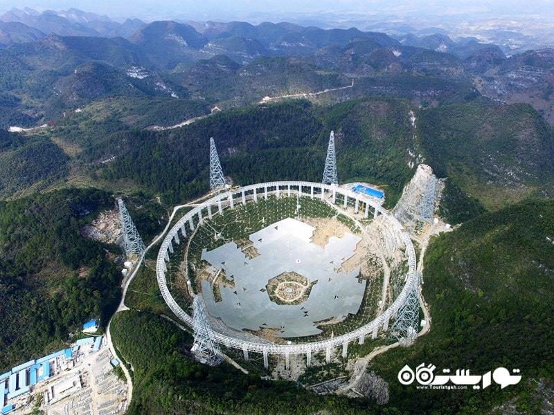 7. تلسکوپ رادیویی آرسیبو جاذبه گردشگری پورتوریکو