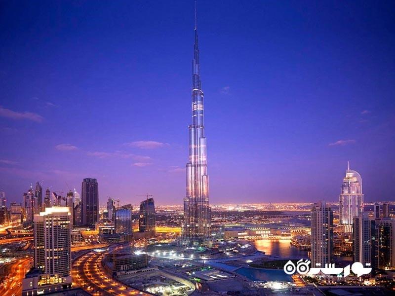 3 – برج خلیفه (Burj Khalifa)