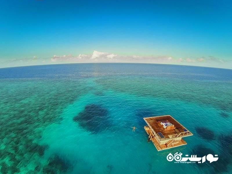 6- اقامتگاه مانتا (Manta resort) واقع در زانزیبار (Zanzibar)