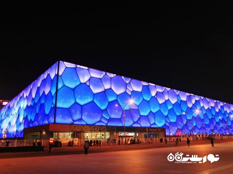 8- مرکز ملی ورزش های آبی پکن