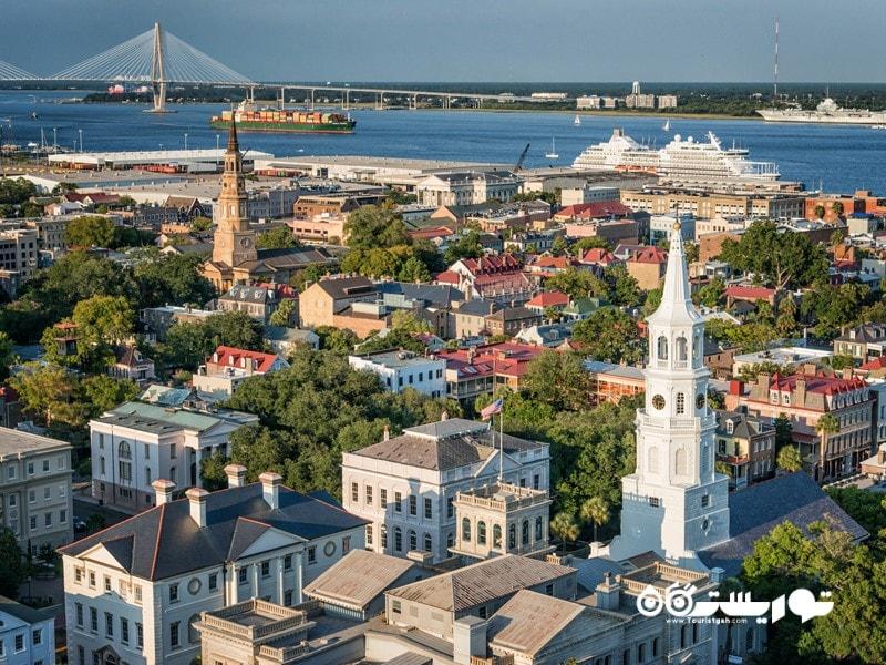 7. چارلستون (Charleston) در کارولینای جنوبی