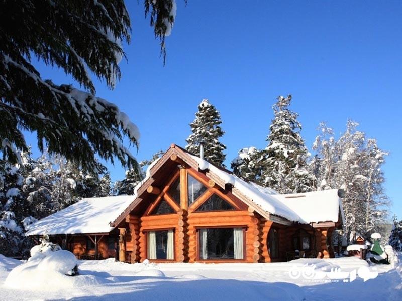 2- کلبه کوهستانی بِر، ارتفاعات اَوِمور (mountain bear lodge, aviemore, highlands)